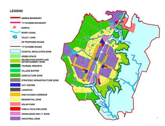 Smart Dholera NA lands